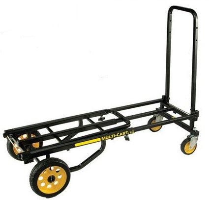 hand trucks r us multi cart 8 in1 equipment transporters r6 mini item r6. Black Bedroom Furniture Sets. Home Design Ideas
